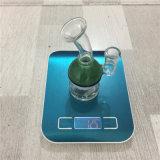 Mini tubo de tabaco de cristal del cenicero del agua del tubo que fuma con el tazón de fuente de cristal