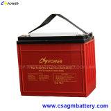 As baterias do Inversor Solar 12V 150 Ah, manutenção gratuita e bateria recarregável