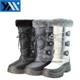 Nouveau style de bottes pour femmes de la neige en hiver chaud Mesdames chaussures chaussures de la plate-forme