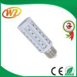 Lâmpada E14/E26/E27/B22 do milho do diodo emissor de luz da luz do milho do diodo emissor de luz de Ce&RoHS 7W