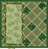 Écharpes carrées en soie contrôlées