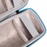 para Bose Soundlink Revolve+ más el caso EVA llevar el espacio adicional del altavoz del rectángulo de la cubierta protectora de la bolsa para el enchufe y los cables