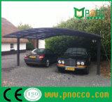 Алюминиевый корпус с двойной Polycabornate Carport Carprot с крыши