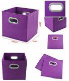 El compartimiento de la tela del cubo de la solución del hogar para el almacenaje arropa Sundrise
