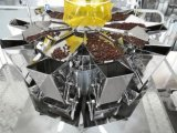 自動大きいボリュームは袋のコーヒー重量を量り、満ちるパッキング機械を立てる
