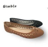 Vaciar las mujeres planas transpirable zapatos de ballet con superior PU