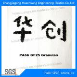66 Les granules en polyamide avec 25 % de fibre de verre