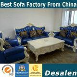 La Chine Canton Fair Hotel mobilier nouveau classique canapé en cuir (004-2)