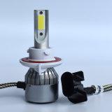 Farol de carro LED Carlight C6 H13 COB 8000lm Farol de LED de 72W