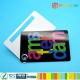 スロットが付いているオフセット印刷PVC荷物の札の主タグカード