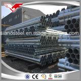 Ms Médio quente do Tubo de Aço Galvanizado/ resíduos explosivos de Tubo de Aço Galvanizado/ tubo redondo galvanizado/Gi para tubo de gases com efeito de estufa//Coluna de cerca/Construção/ o abastecimento de água