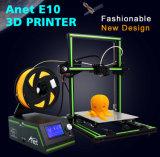 Anet E10 3D-принтер с 220X270X300мм двойной тяги оси Z DIY С ЧПУ высокой точности на Ассамблее многоязыковой