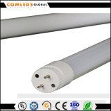 Tubo de cristal de la fábrica 9W los 0.6m/1.2m/1.5m T8 LED