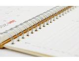 Calendrier à la mode de calendrier et calendrier de bureau avec l'impression de papier