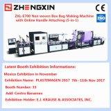 Completa que faz a máquina automática Box tecido 5-em-1 Bag Non com alça online Anexando (ZXL-E700)