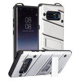 Samsungのノート8のための新しいデザイン幻影2in1の耐震性の背部電話箱カバー