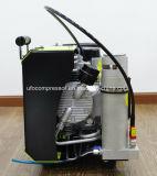 Compresor de Aire de Respiración del Buceo con Escafandra de Alta Presión de 9cfm 225bar