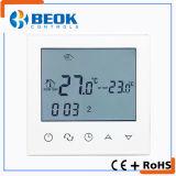 Termóstato semanal del sitio de pantalla táctil del programa para la calefacción por el suelo