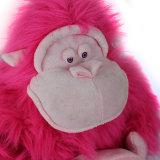 高品質によって詰められる柔らかい毛皮で覆われたゴリラのプラシ天のおもちゃ