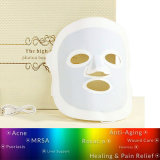 Beauty Skin Care Silicone LED Mask PDT Rajeunissement facial de la peau