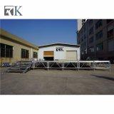 Rk fase portátil com Altura Adjustiable Equipamentos para Eventos ao ar livre