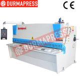 Máquina que pela de la materia textil de la cortadora de la placa de acero QC12y-30X3200