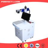 Machine de gravure en plastique gravure de laser de fibre de boucle de fournisseur de la Chine