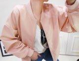 OEM 고품질 여자 대 고리 재킷 외투 야구 재킷