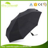 Зонтик промотирования высокого качества изготовленный на заказ напечатанный шелком для подарка VIP
