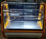 Kosteneffektiver Kuchen-Bildschirmanzeige-Schaukasten mit Trägermaterial-materiellem Kuchen-Schaukasten von der Spitze