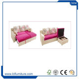 ベッド付きの美しいソファーは多機能のホーム家具のソファーベッド、角のソファーを設計する
