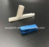 FTTH Bereich-Montage-schneller Verbinder-schneller Verbinder Sc/Upc Drosselklappen