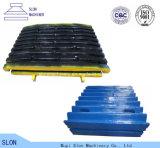 De hoge Plaat van de Kaak van Terex van het Staal van het Mangaan voor de Maalmachine van de Kaak