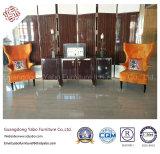 로비 로비 (HL-1-7)를 위한 높은 팔걸이 의자를 가진 호텔 가구
