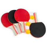 Um Ténis de Mesa Hit (Inclui 4 raquetes, 6 Esferas, Caixa de cores