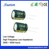 6.3V de Elektrolytische Condensator van de Hoge Frequentie van het Lage Voltage van 330UF