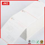 Бумага изготовленный на заказ слипчивого стикера верхняя термально