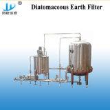 De Machine van de Filter van de Diatomeeënaarde van het roestvrij staal