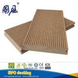 Decking extérieur du solide WPC de longue vie, plancher de WPC