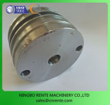 Serviço de CNC Flange de Montagem do cilindro hidráulico de alumínio