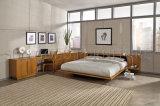 침실 가구는 놓는다 호화스러운 멜라민 널 목제 호텔 침대 (SZ-BT003)를