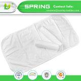 Les plaquettes de couches imperméables, lavable bambou les chemises de coton Baby Changing Pad 3 Pack