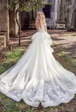 Мантия шарика шнурка Bridal с платья венчания Ml2873 Mermaid шнурка плеча