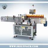 Máquina de etiquetado adhesiva vertical de colocación automática para las botellas redondas