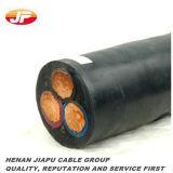 cobre 3X150mm2 12/20 (24) envolturas del PVC del kilovoltio XLPE Insualted/sin el cable de la armadura