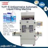 Machine du remplissage Ylff-12 liquide automatique anticorrosive pour le shampooing