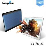 IPSスクリーンが付いている新しい10.1インチの方法3G/2g人間の特徴をもつタブレットのパソコン