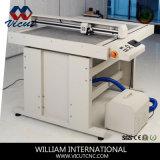 El cuadro vacío de superficie plana de la máquina de corte plegado
