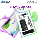 Le Roi 2017 en bonne santé de Seego Vhit Dry Herb Atomizer et batterie de Tc-50W avec l'écran LCD