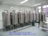 200L-5000L terminan la mini cadena de producción de la cerveza